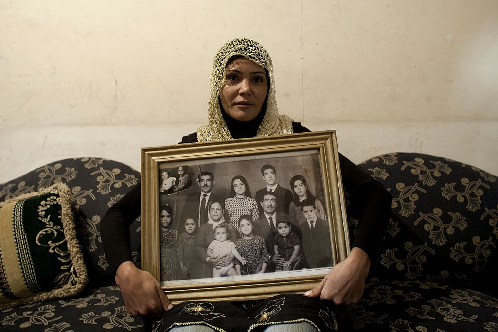 The only survivor of the family portrait. Sabra and Shatila massacre