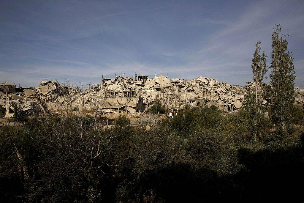 Nahr el Bared first image after the war